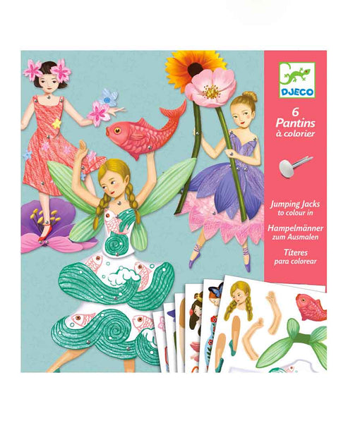 Djeco Fairy Paper Puppets
