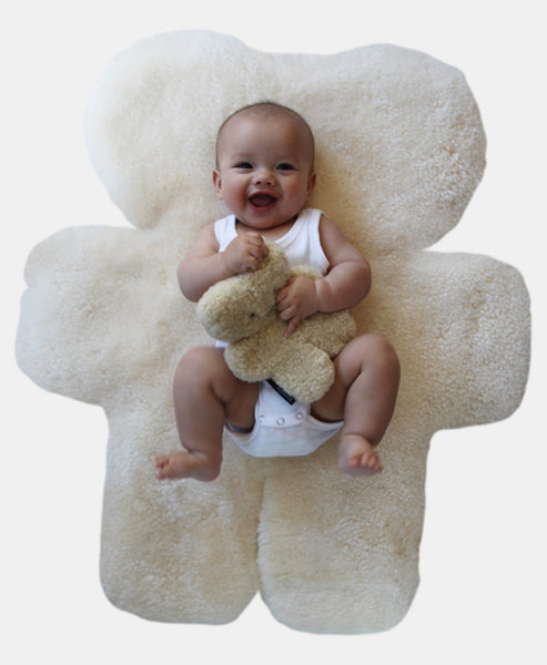 Flatout Bear Floor Rug - Milk
