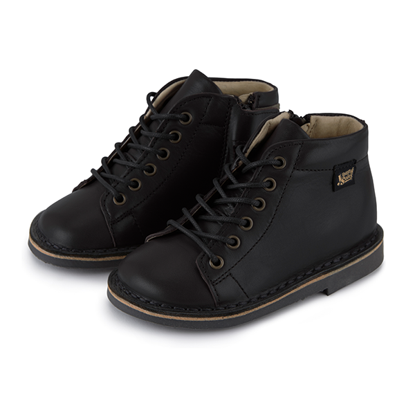 Young Soles Fletcher Monkey Boot - Black