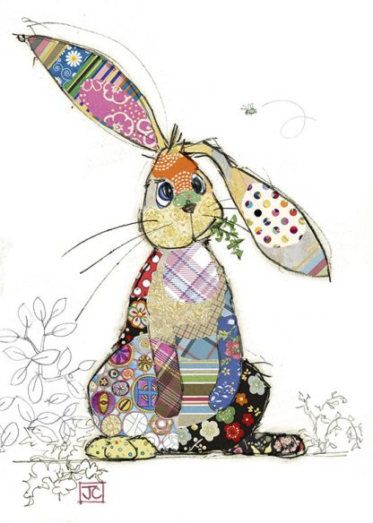 Bug Art Blinky Bunny Card
