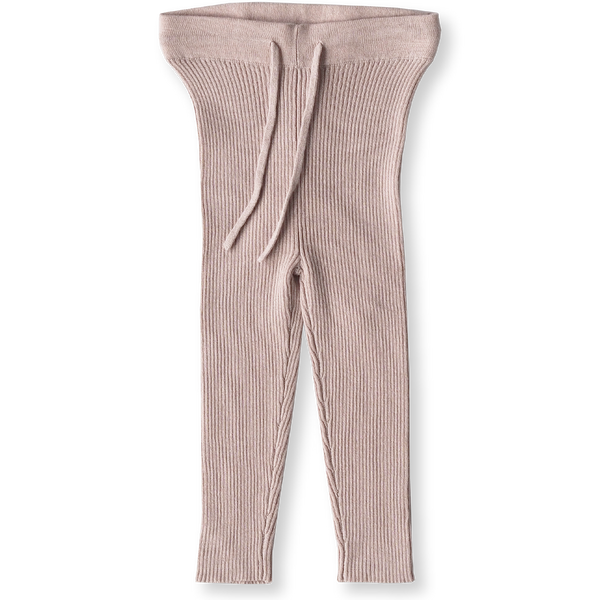 Grown Clothing Ribbed Essential Leggings: Rose