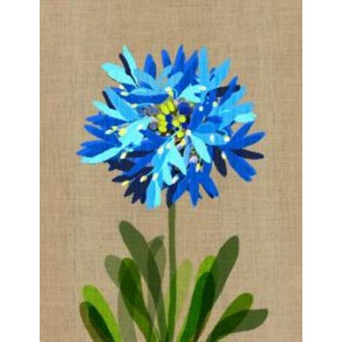 Gillian Mary Super Blue Pincushion Gift Card