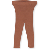 Grown Clothing Ribbed Essential Leggings: Terracotta Rose