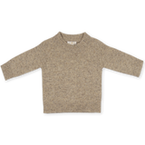Grown Speckled Merino Jumper Stone