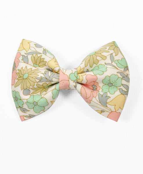 Pretty Wild Georgie Single Bow Liberty Daisy Lime