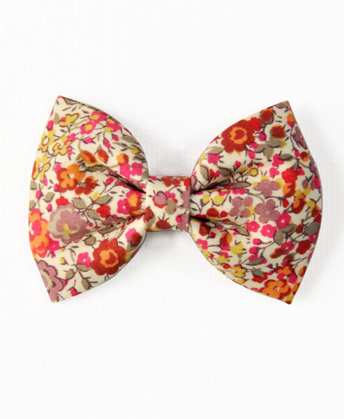 Pretty Wild Georgie Single Bow Liberty Mellow Flower