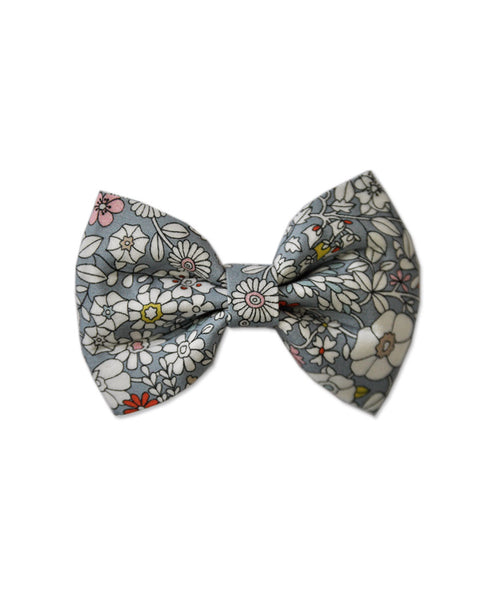 Pretty Wild Georgie Single Bow Liberty Fog