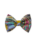 Pretty Wild Georgie Single Bow Clip - Liberty Paisley