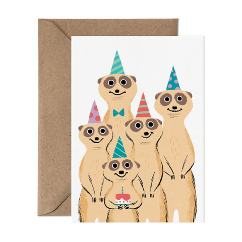 Card Nest Happy Birthday From Us Meerkats