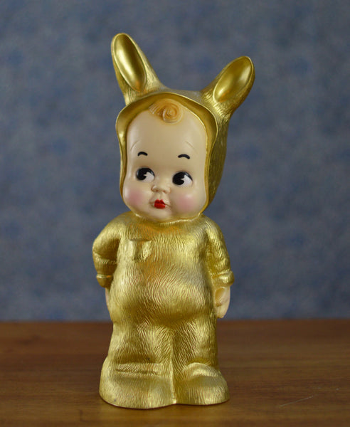 Lapin and Me Baby Lamp - Gold