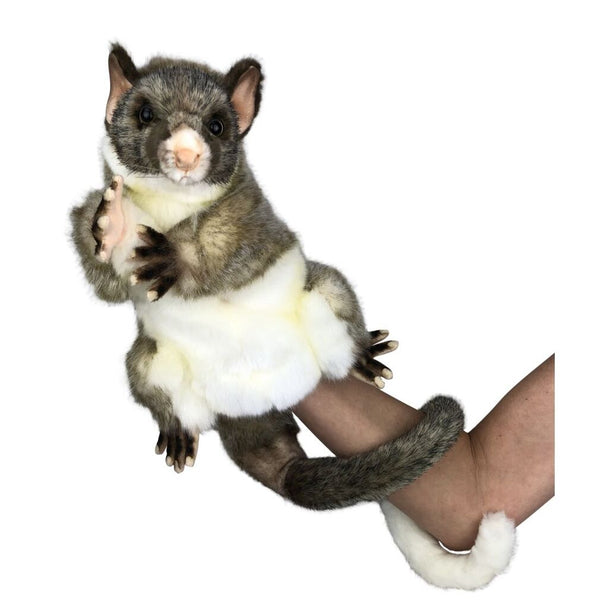 Hansa Brush Tailed Possum Hand Puppet 45cm