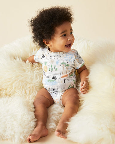 Halcyon Nights S/S Bodysuit Big Adventures