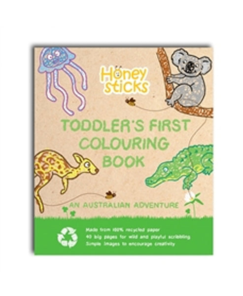 Honeysticks Colouring Book An Australian Adventure