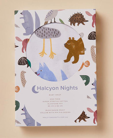 Halcyon Nights Wrap Bush Dance