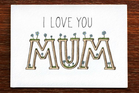 The Nonsense Maker I Love You Mum Card