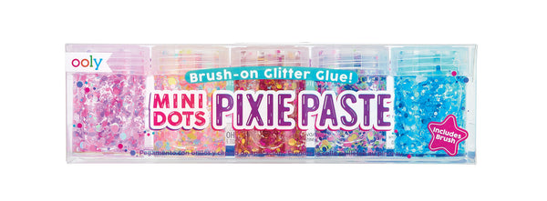 Ooly Glitter Glue - Mini Dots