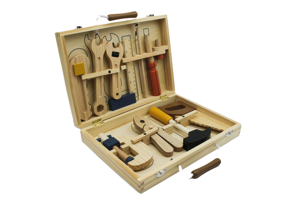 Knox and Floyd Wooden Tool Box