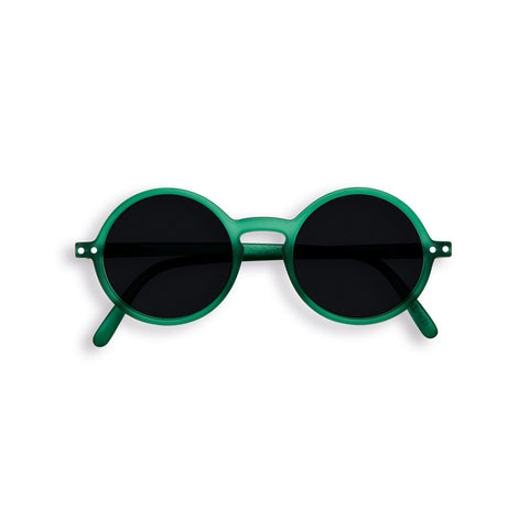 Izipizi: Sun Junior Sunglasses Collection G Shape: Green Crystal