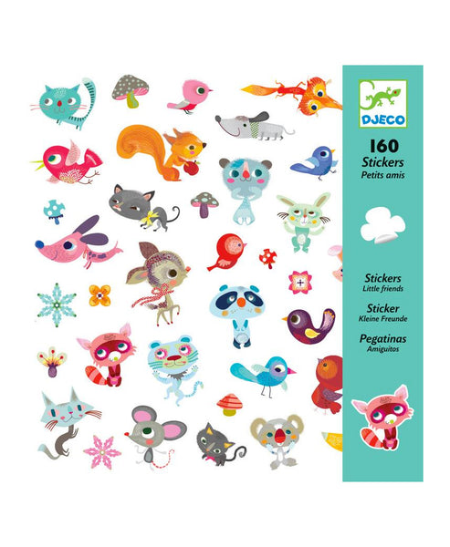 Djeco Small Friends - Stickers