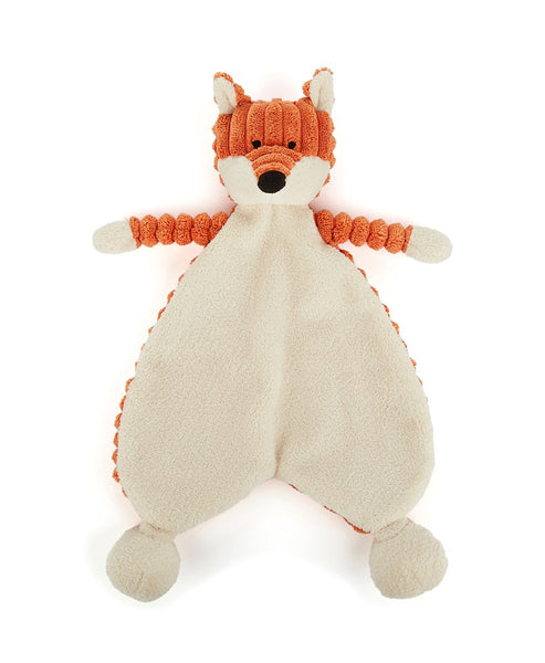 Jellycat Cordy Roy Baby Fox Soother Comforter