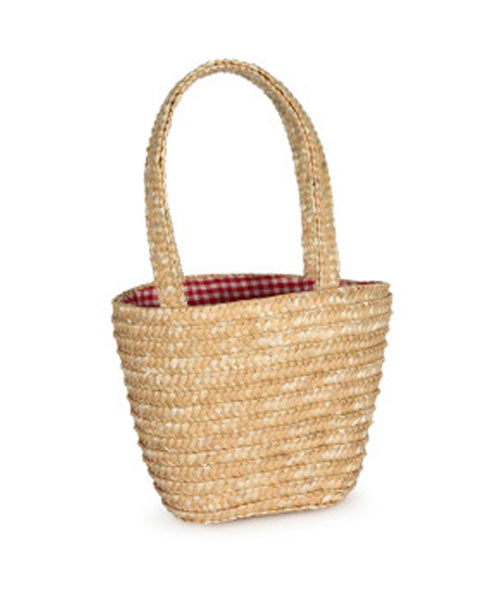 Knox and Floyd Straw Shopping Bag