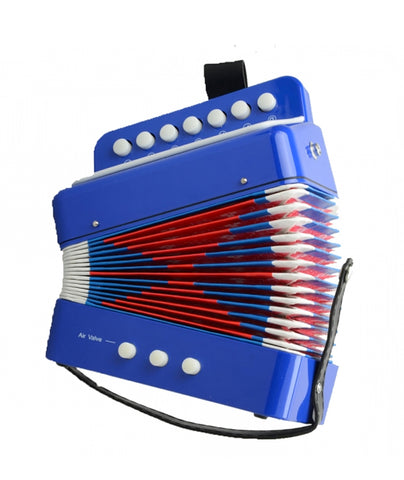 Piano Accordian Blue