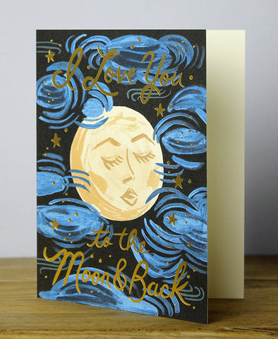 Rifle Paper Co: To The Moon And Back Card