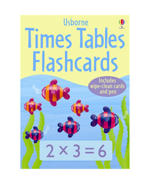 Usborne Times Table Flashcards