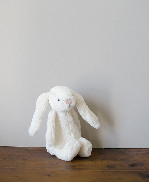 Jellycat Bashful Cream Bunny - Small