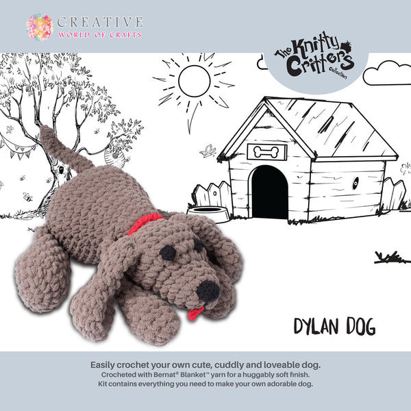 The Knitty Critters Collection - Dylan Dog