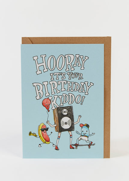 Wally Paper Co: Hooray Kiddo