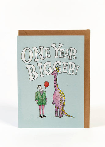 Wally Paper Co: One Year Bigger