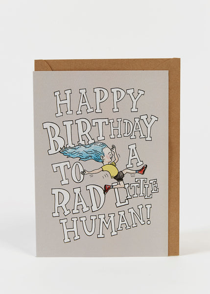 Wally Paper Co: Rad Human