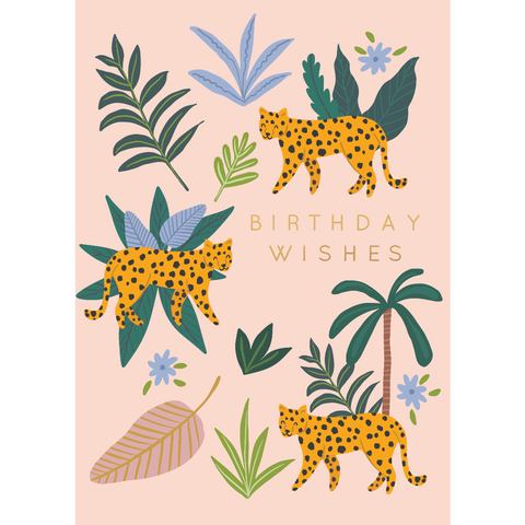 Kaiser Style Wild Birthday Wishes Card