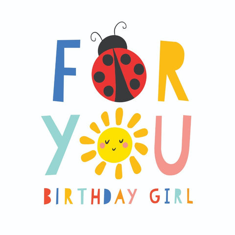 KaiserStyle Sunshine For You Birthday Girl Card