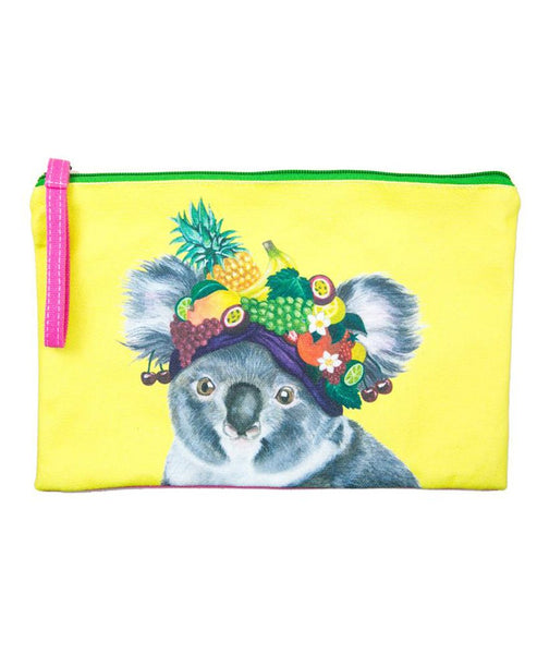 La La Land Clutch Purse / Pencil Case Koala
