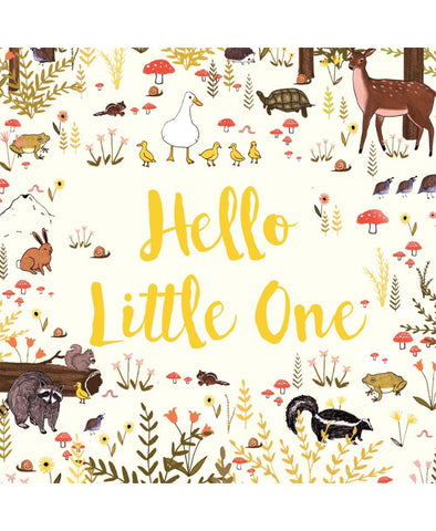 Lalaland Greeting Card Hello Little One