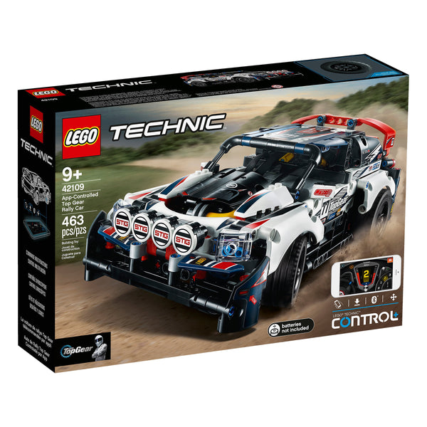 Lego Technic App Controlled Top Gear Rally Car