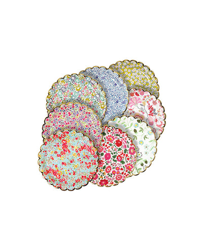 Meri Meri Liberty Assorted Plates Small