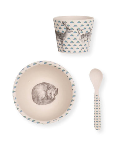 Love Mae Baby Bowl Set Fox