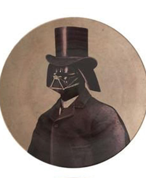 Lalaland Victorian Star Wars Plate Darth Vader