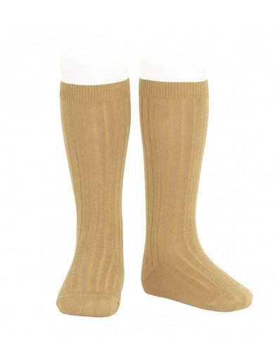 Condor Knee Hi Ribbed Sock (#673 Dorado)