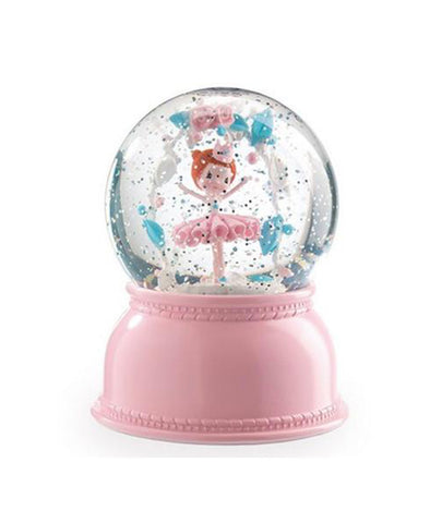 Little Big Room Djeco Ballerina Night Light Snow Dome