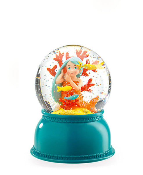 Little Big Room Djeco Mermaid Night Light Snow Dome