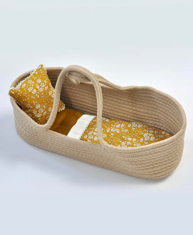 Pretty Wild Little Carrier Bassinet Capel Mustard