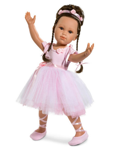 Llorens Spanish Articulated Ballerina Doll - Olga - 42cm