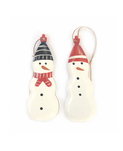 Maileg Metal Snowman Ornament