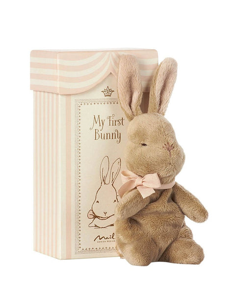 Maileg My first Bunny in Box Pink