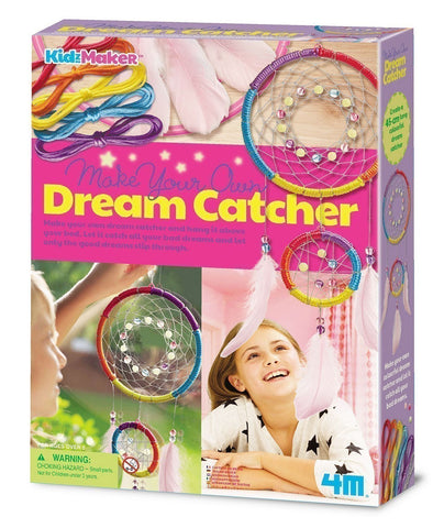 4M Kidz Maker Make Your Own Dream Catcher
