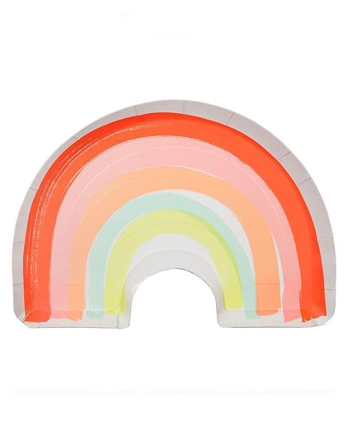 Meri Meri Rainbow Plates Shaped